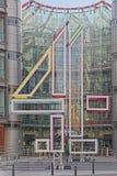 Channel 4-Gebäude, London, England Lizenzfreie Stockfotografie