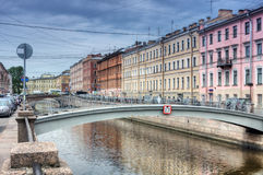 Channel of Griboedov in Saint-Petersburg Royalty Free Stock Photography
