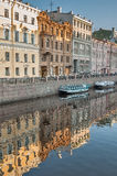 Channel of Griboedov in Saint-Petersburg. Russia Stock Photo