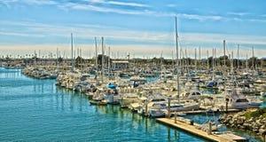 Channel Islands Marina Oxnard Kalifornia Zdjęcie Royalty Free