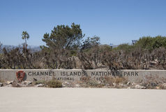 Channel Islands park narodowy Obrazy Stock