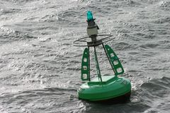 Channel Marker Buoy Stock Images