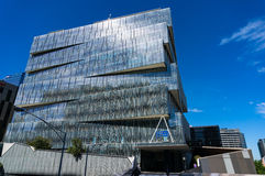 Channel Nine building in Docklands, Melbourne, Victoria, Austral Royalty Free Stock Photography