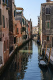 Channel in Venice Royalty Free Stock Photos