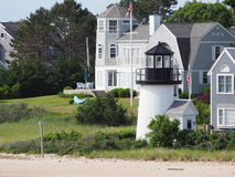 The Channel Point Ornamental Lighthouse Hyannis Ha Royalty Free Stock Image