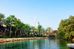 The channel in Souk Madinat Jumeirah Stock Photo