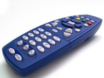 Channel-surf. Remote control Royalty Free Stock Photo