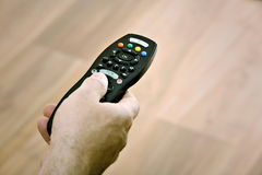 Channel Surfing Stock Image