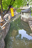 Canal in Suzhou, China Royalty Free Stock Photography