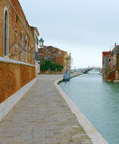 Channel to the venetian arsenal (Venice, Italy) Stock Images