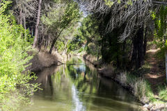 Channel, Valladolid Stock Photo