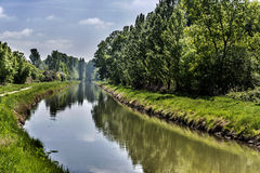 Channel, Valladolid Royalty Free Stock Photo
