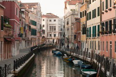 Channel of Venice Royalty Free Stock Images
