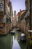 Channel in Venice royalty free stock photography
