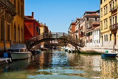 Channel in Venice Stock Photo