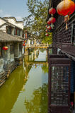 Channel at Zhouzhuang Royalty Free Stock Photos