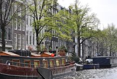 Channels of Amsterdam Royalty Free Stock Photo