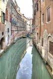 Channels are in city Venice. HDR Stock Images