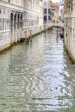 Channels are in city Venice Stock Photography