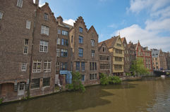 At the Channels of Ghent Stock Image
