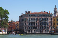 Channels and palaces in Venice Royalty Free Stock Photos