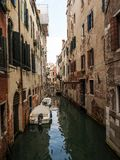 Channels at Venezia Royalty Free Stock Image