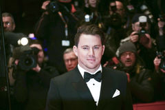 Channing Tatum attends the `Hail, Caesar!` Royalty Free Stock Image