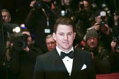 Channing Tatum deltar i `-hagelet, Caesar! `, royaltyfri bild