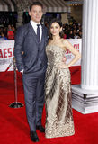 Channing Tatum e Jenna Dewan Fotografia Stock