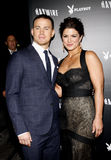 Channing Tatum and Gina Carano Stock Image