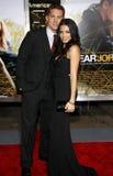 Channing Tatum i Jenna Dewan Obrazy Stock