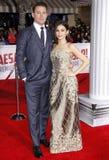 Channing Tatum i Jenna Dewan Fotografia Stock
