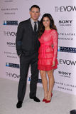 Channing Tatum, Jenna Dewan Stock Photo