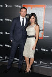 Channing Tatum, Jenna Dewan Royalty Free Stock Photos
