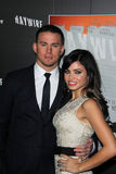 Channing Tatum, Jenna Dewan Stock Image