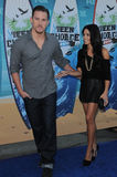 Channing Tatum,Jenna Dewan Royalty Free Stock Image
