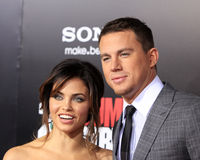 Channing Tatum,Jenna Dewan Royalty Free Stock Photos