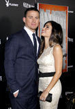 Channing Tatum and Jenna Dewan Stock Photography