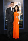 Channing Tatum and Jenna Dewan Royalty Free Stock Image
