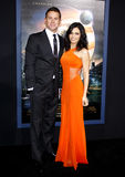 Channing Tatum and Jenna Dewan Royalty Free Stock Photo