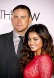 Channing Tatum and Jenna Dewan Stock Photo