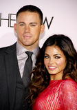 Channing Tatum and Jenna Dewan Royalty Free Stock Photos