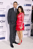 Channing Tatum and Jenna Dewan Stock Images