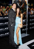 Channing Tatum and Jenna Dewan Royalty Free Stock Photography