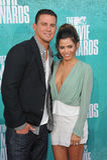 Channing Tatum & Jenna Dewan-Tatum stock photography