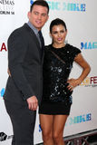 Channing Tatum, Jenna Dewan Tatum arrives at the  Royalty Free Stock Photo