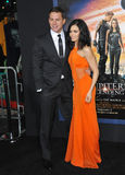 Channing Tatum & Jenna Dewan-Tatum Stock Photos