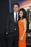 Channing Tatum & Jenna Dewan-Tatum Royalty Free Stock Photo