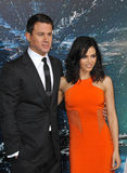 Channing Tatum & Jenna Dewan-Tatum Stock Photography
