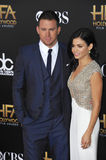 Channing Tatum & Jenna Dewan-Tatum Royalty Free Stock Photos